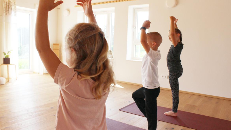 Yoga für Yogakids (5 bis 9 Jahre)